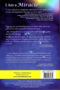 I Am a Miracle Back Cover