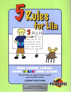 5 Rules for Lila Front Cover
