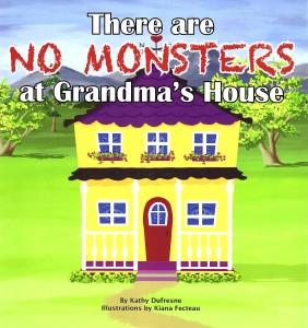 There are NO Monsters at Grandma's House Front Cover