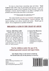 Total Truth & Lies Back Cover