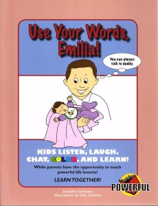 Use Your Words, Emilia! Front Cover